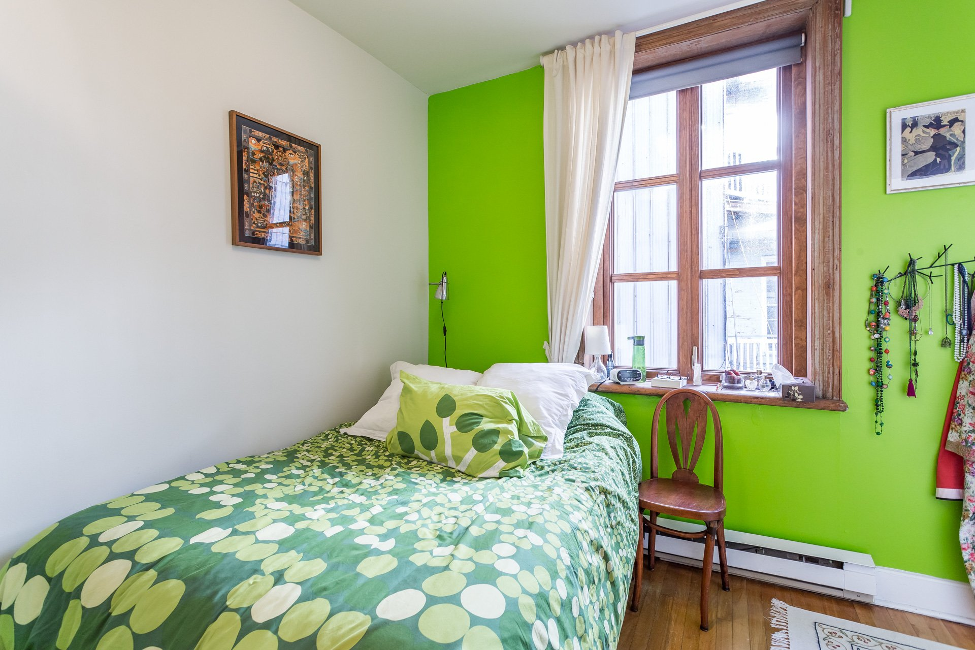 Chambre à coucher Triplex Montréal (Le Plateau-Mont-Royal)