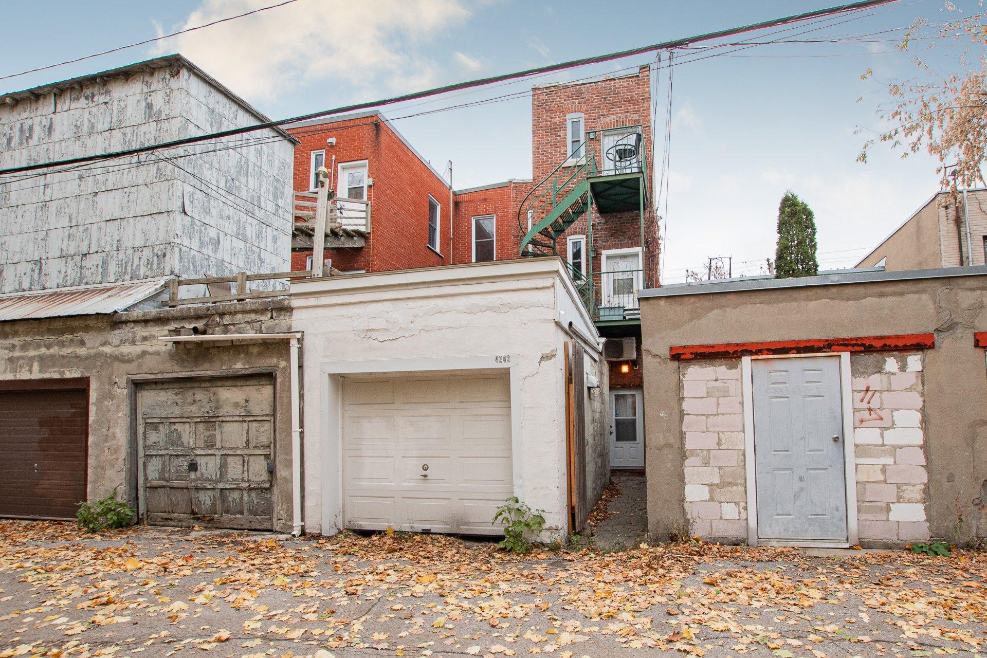 Garage Triplex Montréal (Le Plateau-Mont-Royal)