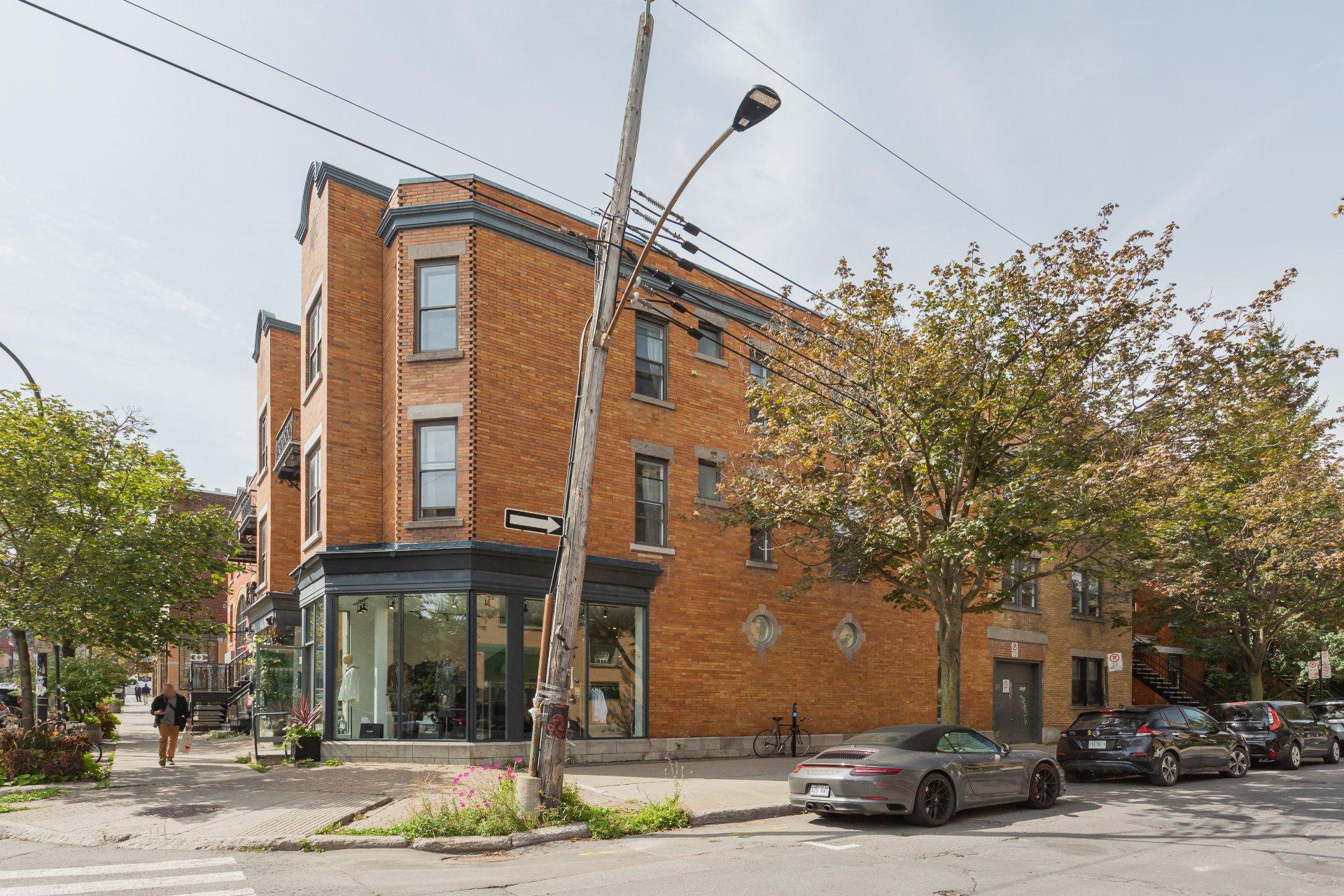 Façade Propriété à revenus Montréal (Le Plateau-Mont-Royal)