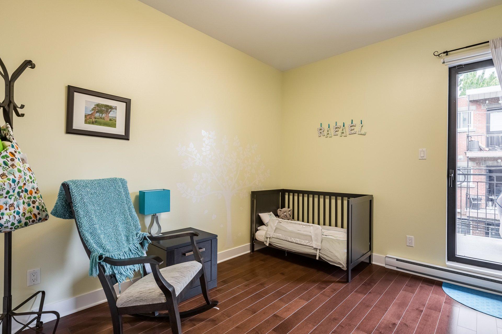 Chambre à coucher Condo Montréal (Villeray/Saint-Michel/Parc-Extension)