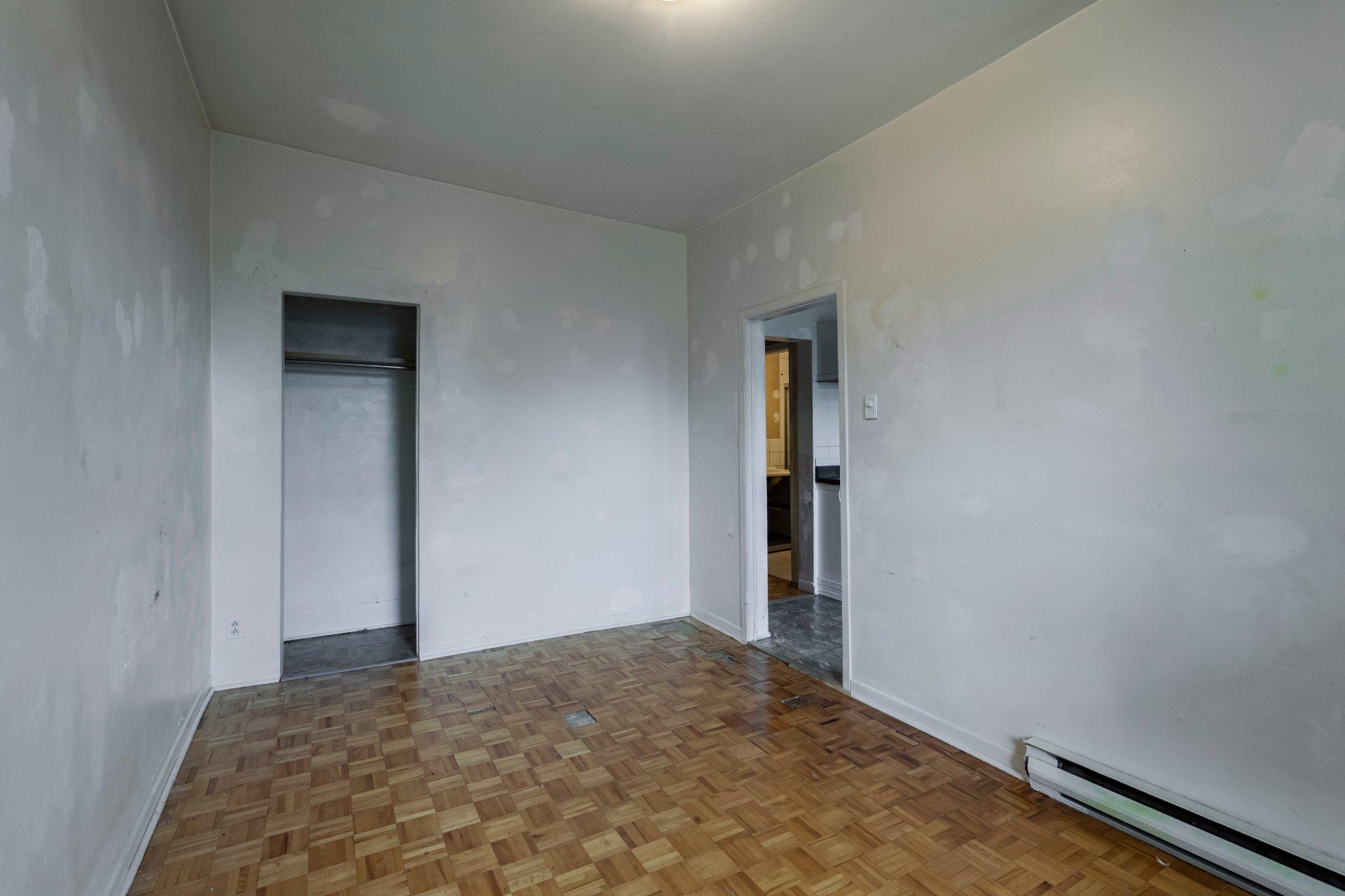 Chambre à coucher principale Triplex Montréal (Le Sud-Ouest)
